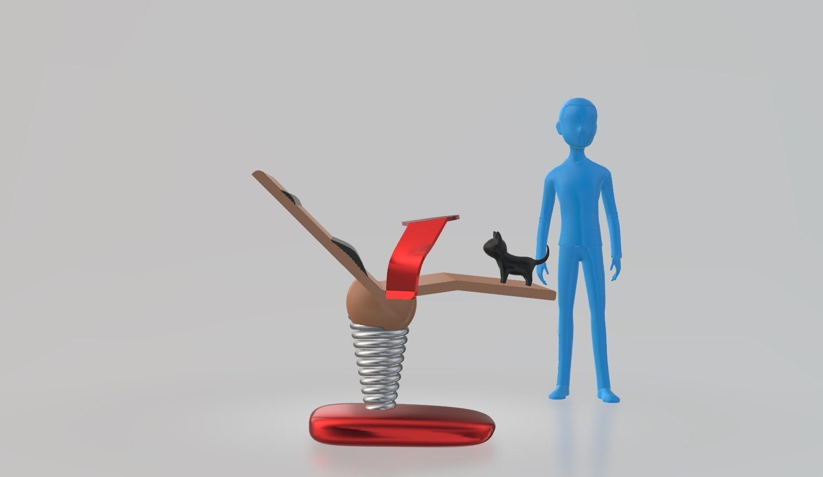 cote.jpg Télécharger fichier STL gratuit le lazydeskchair • Objet à imprimer en 3D, spiriteom