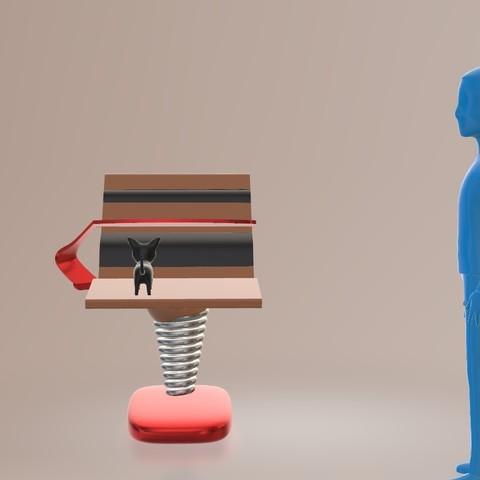 face.jpg Télécharger fichier STL gratuit le lazydeskchair • Objet à imprimer en 3D, spiriteom