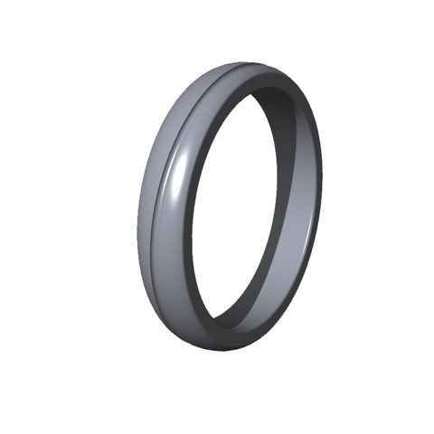Download 3D model men's wedding ring, ToneRjewelery