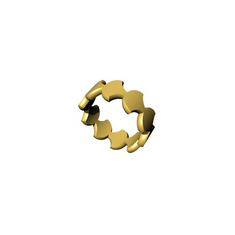 Download 3D printer designs tortie ring, ToneRjewelery