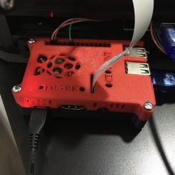 Télécharger fichier impression 3D gratuit RaspberryPi 3 boîtier 2020 montage 2020, djmarko