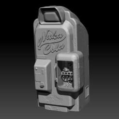 Modelos 3D Autómata Fallout Nuka Cola, Tomasjanceart