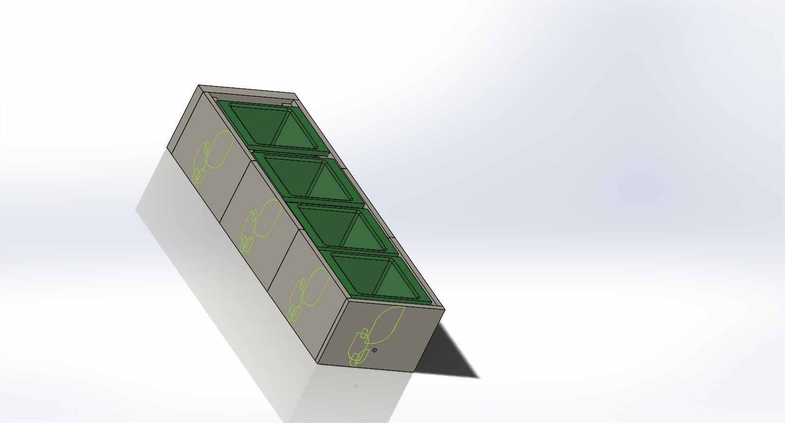 modular plant pot holder recycling assembly 2.JPG Download free STL file Modular Plant Holding System with Water recycling • 3D print model, AAMS