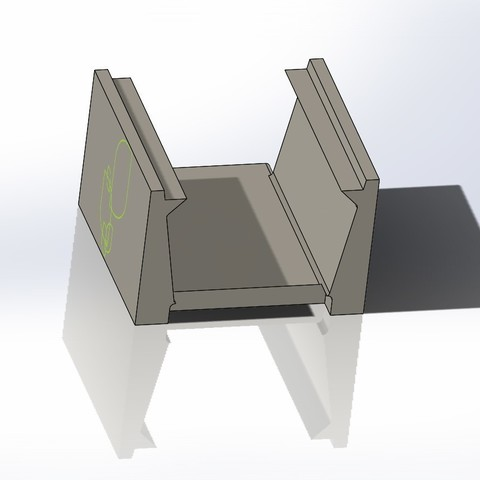 modular troph 2.JPG Download free STL file Modular Plant Holding System with Water recycling • 3D print model, AAMS
