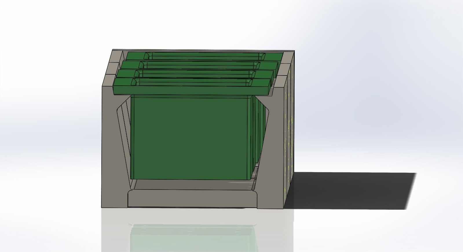 modular plant pot holder recycling assembly 4.JPG Download free STL file Modular Plant Holding System with Water recycling • 3D print model, AAMS