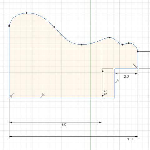 Profile.jpg Télécharger fichier STL gratuit Cadre photo • Plan pour imprimante 3D, Patrick40
