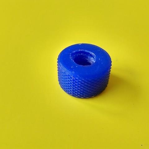 Download free STL file Nut for Lag Bolt (Wood) • 3D printable template, Patrick40