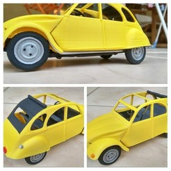 Download STL french small car, Patrick19