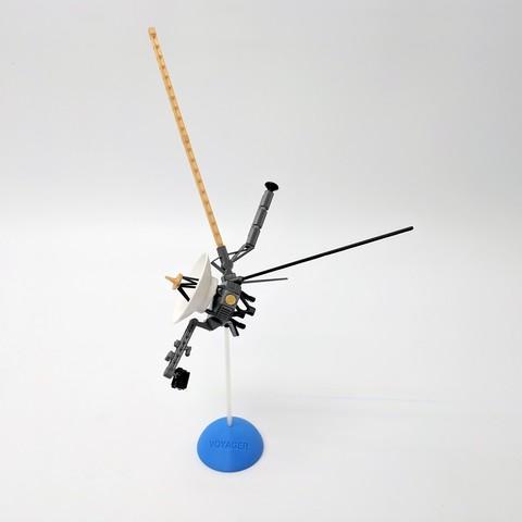 Descargar Modelos 3D para imprimir gratis Modelo de escritorio de satélite Voyager, 3DNoah