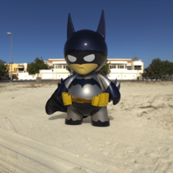 Imprimir en 3D Funko Batman, Jhohanan