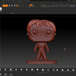 Download 3D printing files Harry Potter Funko Pop, Jhohanan