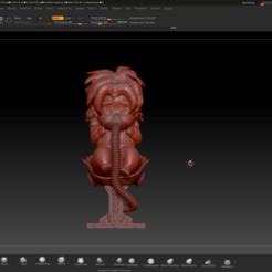 3D print model Bebé Broly, Jhohanan