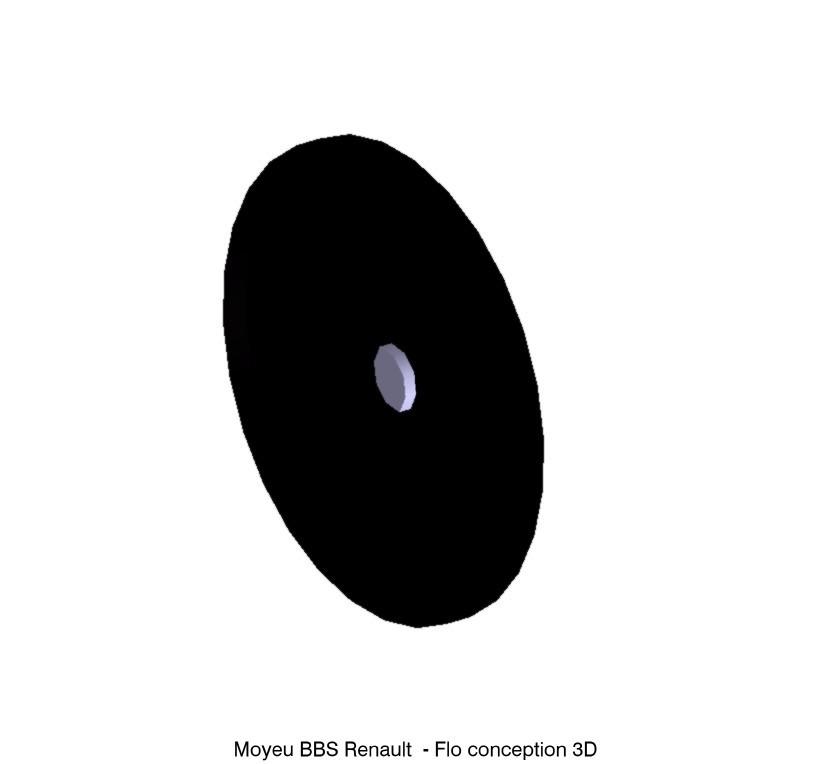 moyeu bbs partie haute1.jpg Download STL file Renault BBS hub • Design to 3D print, fanfy54