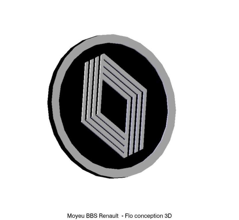 moyeu bbs partie haute.jpg Download STL file Renault BBS hub • Design to 3D print, fanfy54