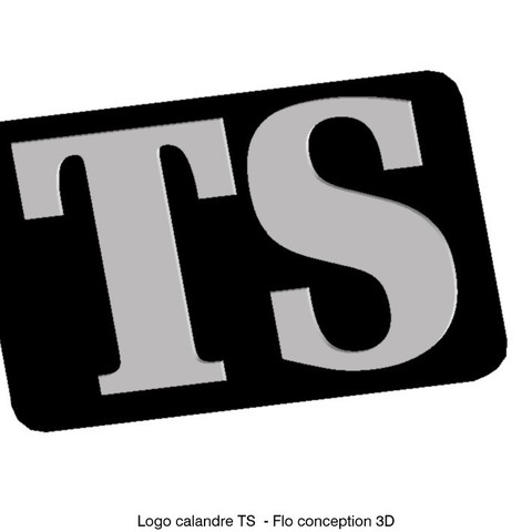 Download 3D printer templates Logo grille TS, fanfy54