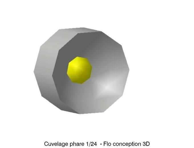 Cuvelage de phare camion.jpg Download STL file Headlight casing Renault G260 1/24 • 3D print object, fanfy54
