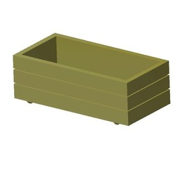 Free 3D model Flower container 1/87 HO, fanfy54
