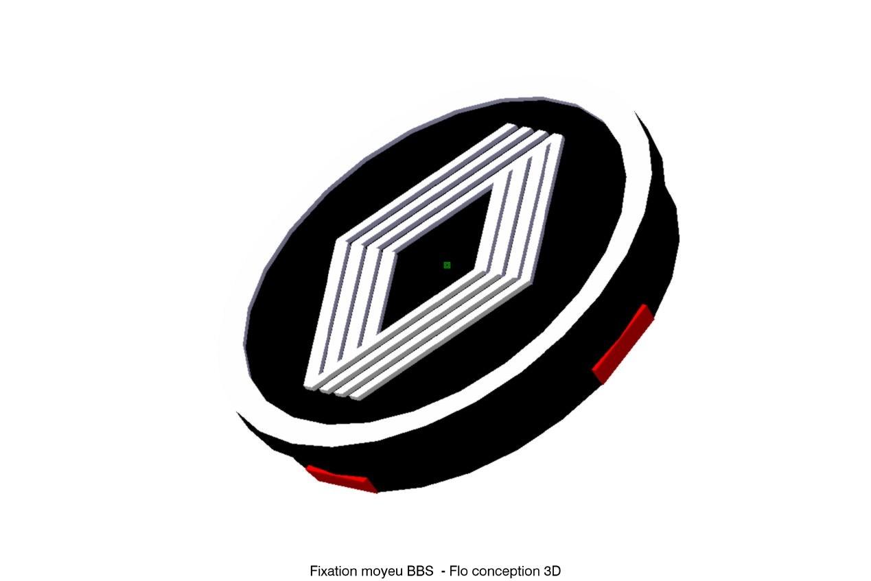 fixation moyeu BBS2.jpg Download STL file Renault BBS hub • Design to 3D print, fanfy54