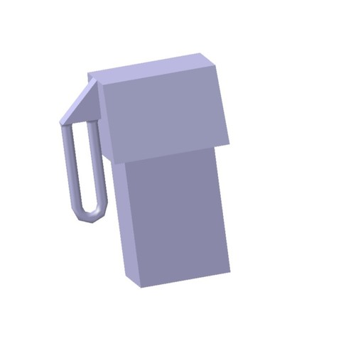 3D printing model 1/87 HO Gas Pump, fanfy54