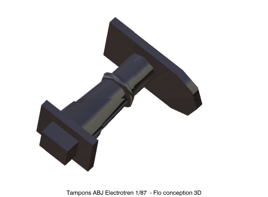 Tampons ABJ Electrotren1.jpg Download STL file ABJ Electrotren 1/87 HO Pads • 3D printing model, fanfy54