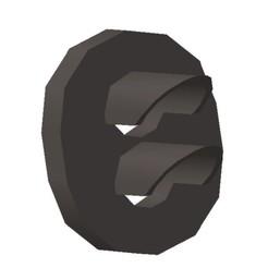 Cible 2 feux.jpg Download STL file Target 2 lights vertical 1/87 HO • 3D printing template, fanfy54
