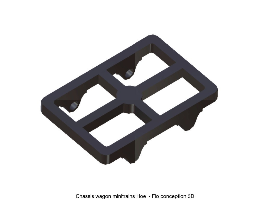 chassis wagon.jpg Download STL file Hoe wagon frame • 3D printer template, fanfy54