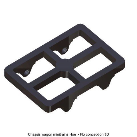 Download 3D printer templates Hoe wagon frame, fanfy54