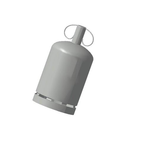 3D printing model Gas bottle 1/87 HO, fanfy54