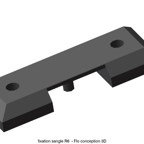 sangle R6.jpg Download STL file Door strap attachment R6 • 3D print object, fanfy54