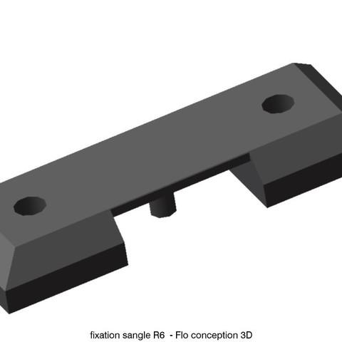 Fichier impression 3D Fixation sangle de porte R6, fanfy54