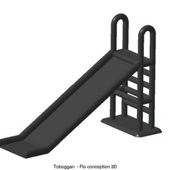 Toboggan.jpg Download STL file Toboggan 1/87 • 3D printer object, fanfy54