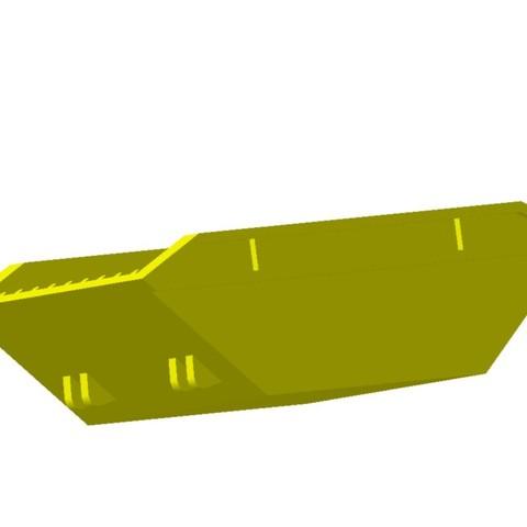 benne multibenne jaune1.jpg Download STL file Multi-Tank Trailer 1/87 HO • 3D printable model, fanfy54