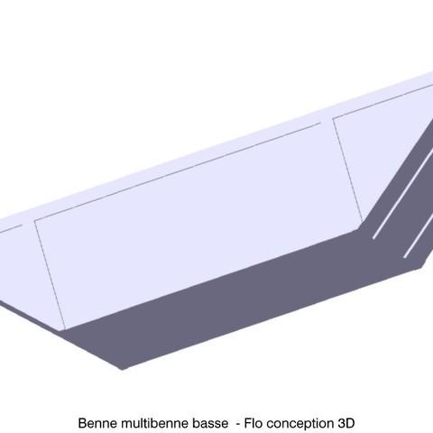 3D print model 1 1/87 HO skip loader, fanfy54