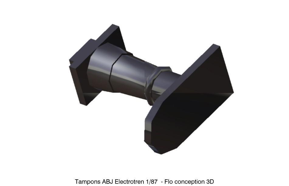 Tampons ABJ Electrotren.jpg Download STL file ABJ Electrotren 1/87 HO Pads • 3D printing model, fanfy54