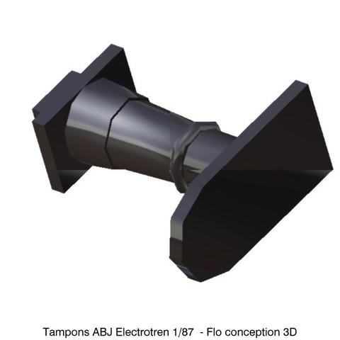 STL ABJ Electrotren 1/87 HO Pads, fanfy54