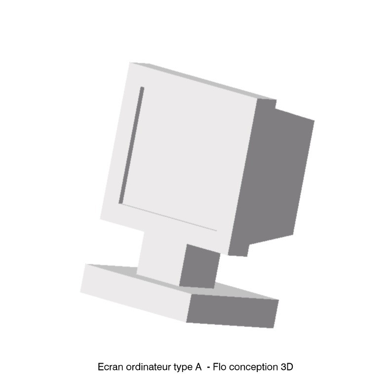 df.jpg Download STL file Computer screen type A • 3D printable object, fanfy54