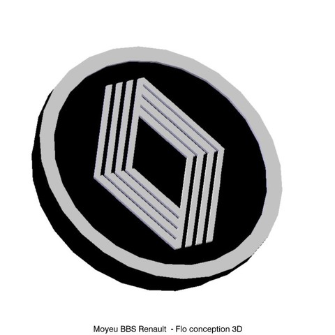 moyeu bbs1.jpg Download STL file Renault BBS hub • Design to 3D print, fanfy54