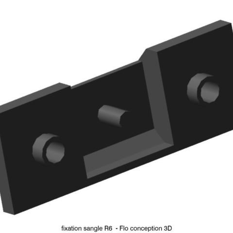sangle R6L.jpg Download STL file Door strap attachment R6 • 3D print object, fanfy54