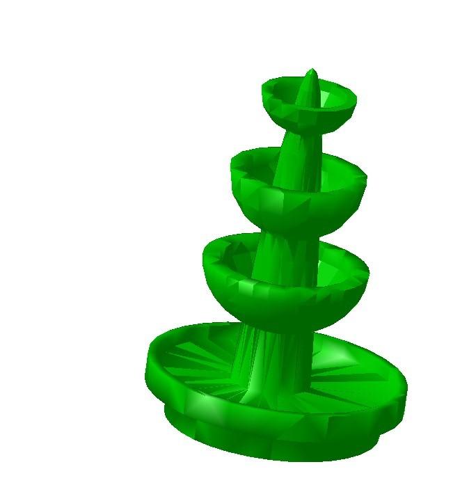 fontaine.jpg Télécharger fichier STL gratuit Fontaine HO 1/87 • Plan imprimable en 3D, fanfy54