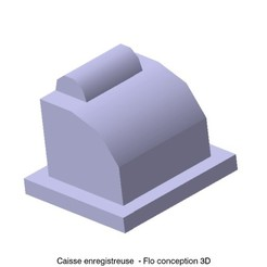 Download 3D printing files Cash register 1/87 HO, fanfy54