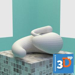 spirale-03-3dup.png Download STL file Spiral 03 • 3D print template, 3dup_bzh