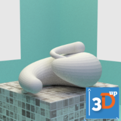 Download 3D printing models Spiral 03, 3dup_bzh
