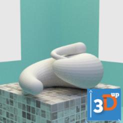spirale-03-3dup.png Télécharger fichier STL Spirale 03 • Modèle à imprimer en 3D, 3dup_bzh