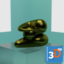 Download 3D printing templates Spiral 05, 3dup_bzh