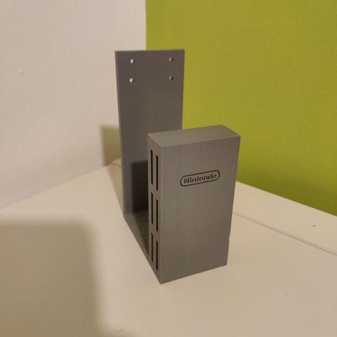 3D printer models Wall mount bracket Nintendo Switch V3.0, monty7900