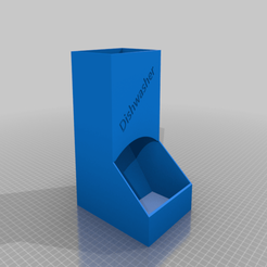 Dishwasher_dispencer.png Download STL file Dishwasher dispencer • 3D printer template, Noellie