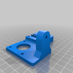 Base_V1.png Download free STL file Extruder Relocation • 3D printable model, noellie