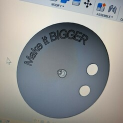 20210121_153221.jpg Download free STL file Big disc for turntable -- FIX-- • 3D printable design, Noellie