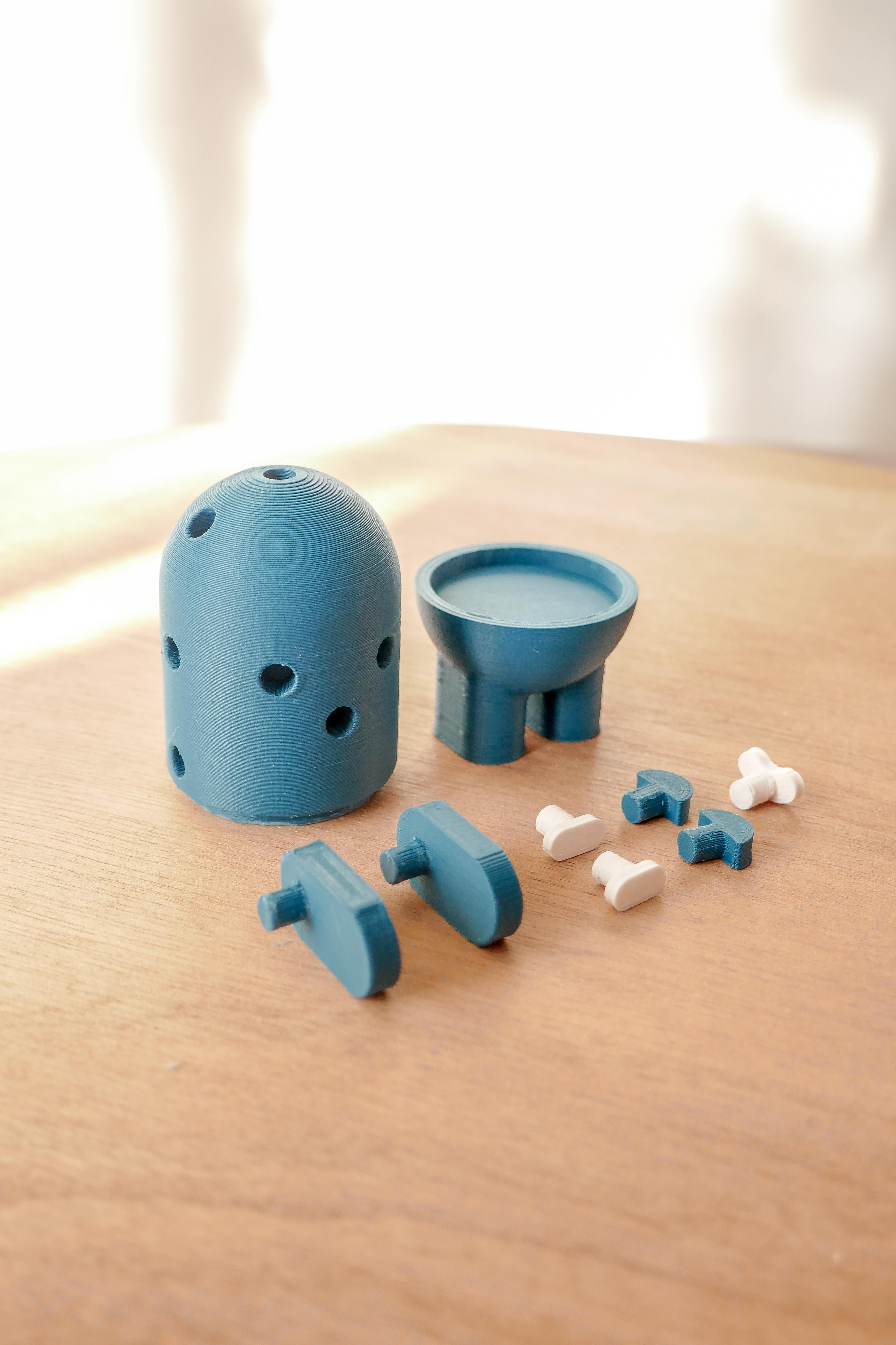 Click and smile_FIGURINE STARTER PACK_studio klipsi_2020 (1 sur 20) (10).jpg Download free STL file Action figure - CLICK & SMILE - Starter pack • Model to 3D print, StudioKlipsi
