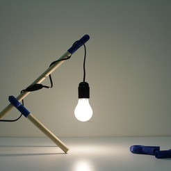 Download 3D printing templates Klipsi Lamp, Tristan_M